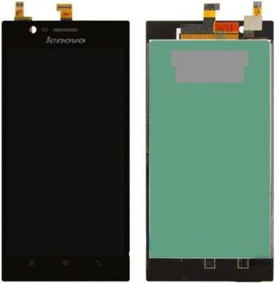 Дисплей (LCD) Lenovo K900 с сенсором черный оригинал