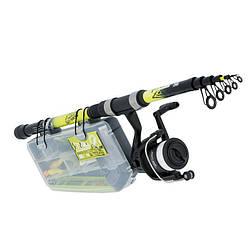 Удочка болонская + набор Caperlan Ufish Freshwater 240
