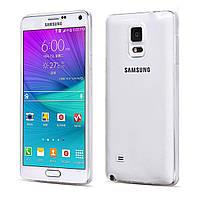 TPU чехол Ultrathin Series 0,33mm для Samsung N910H Galaxy Note 4 Бесцветный (прозрачный)