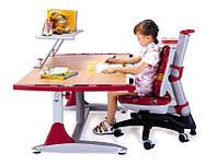 Комплект мебели: парта КD-7L + кресло КY-318 красное