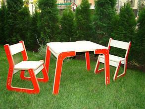 Комплект дитячих меблів стіл і стілець Ля Феррарі