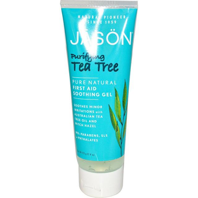 Успокаивающий антисептический гель с маслом чайного дерева *Jason (США)*