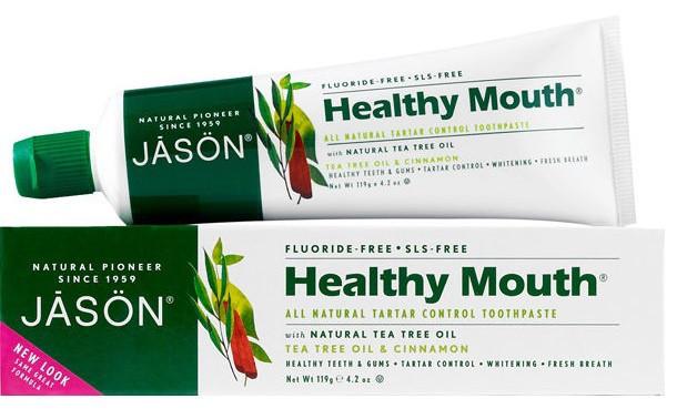 Зубна паста з маслом чайного дерева проти пародонтозу «Healthy Mouth» * Jason (США) *