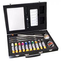 """Набір акрилових фарб """"Graduate Acrylic Set"""" 90732028 , 10 * 22мл, дерево, DR"""