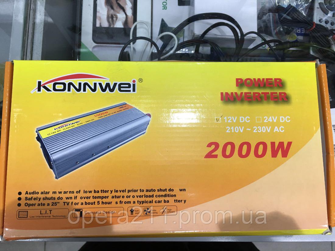 Преоброзователь 2000w