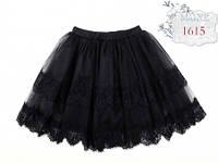 Школьная юбка MONE 1615, цвет черный