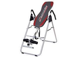 Инверсионный стол inSPORTline Verge (тренажер для позвоночника спины механический)