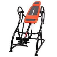 Инверсионный стол inSPORTline Plus (тренажер для позвоночника спины механический)