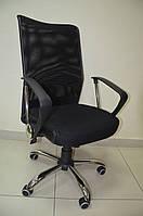 Офисное кресло АЭРО HB сиденье Сетка черная,Неаполь 20/спинка Сетка черная