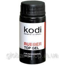 Rubber Top (каучуковое верхнее покрытие для гель-лака) 22 мл (Топ Коди 22 мл) Kodi Professional