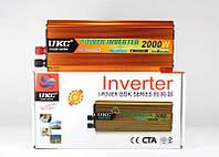Инвертор, преобразователь напряжения AC DC SSK 2000W 24V220V