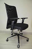 Офисное кресло АЭРО Люкс сиденье Сетка черная,Неаполь 20/спинка Сетка черная