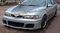 Передний бампер для Nissan Almera N15 1995-2000