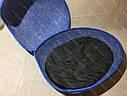 Домик Смайл из войлока голубой 44х37х34 см для собак и кошек, фото 5