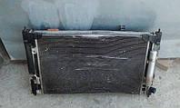 Комплект (два радиатора, диффузор с вентиляторами) MitsubishiOutlander XL, 3.0