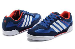 Кроссовки Adidas Rubber Master мужские синие с белым