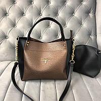 Женская брендовая сумка Prada