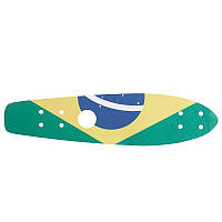 Наклейка абразивная для скейтборда Oxelo Big Yamba Brasil