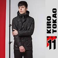 11 Kiro Tokao | Мужская куртка весна-осень японская двойная 9936 черный