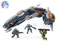 Конструктор Mega Bloks Phaeton gunship Боевой вертолет серии HALO