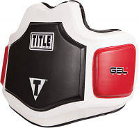 Title Защита корпуса гелевая (жилет тренерский) Gel Body Protector GPBP |бел/красн/черн