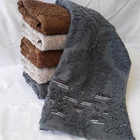 Банные полотенца Лен махра (6 шт)