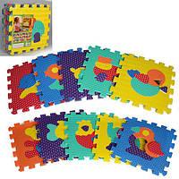 Коврик-мозаика M 2619 Веселая головоломка. Животные.