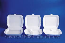 Ланч-боксы из вспененного полистирола (1,2,3 секционные)