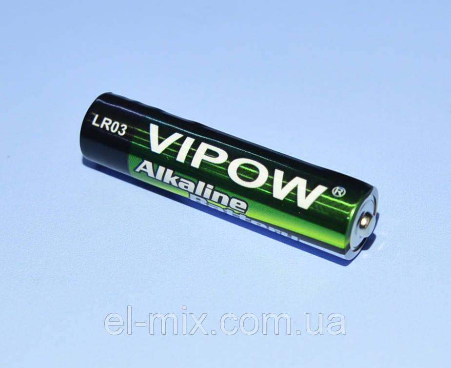 "Батарейка LR03(AAA) alkaline ""Vipow""  BAT0060"
