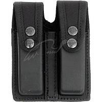 Подсумок Front Line KNG 2104 для двух пистолетных магазинов. Материал - Kydex. Цвет - черный