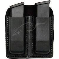 Подсумок Front Line KNG 2105 для двух пистолетных магазинов. Материал - Kydex. Цвет - черный