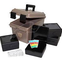 Коробка MTM Ammo Can Combo с органайзером на 400 патронов кал. 308 Win; 30-06. Цвет - темно-коричневый