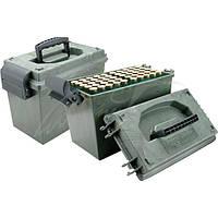 Коробка MTM Shotshell Dry Box на 100 патронов кал. 20/76. Цвет – камуфляж