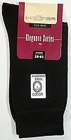 Носки из 100% хлопка мужские черного цвета 39-41р