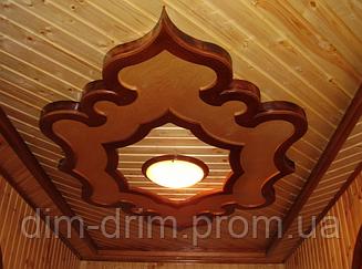 Панель дерев'яна Вагонка ДІМ-ДРІМ WOOD 90х15