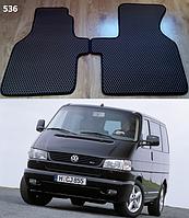 Передние коврики на Volkswagen Transporter T4 '90-03. Автоковрики EVA