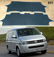 Коврики в пассажирский салон Volkswagen Transporter T5 '03-15. Автоковрики EVA