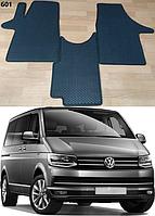 Передние коврики на Volkswagen Transporter T6 '15-. Автоковрики EVA
