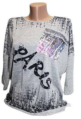 Блуза осень/весна №11702 (уп. 2 шт.), фото 2