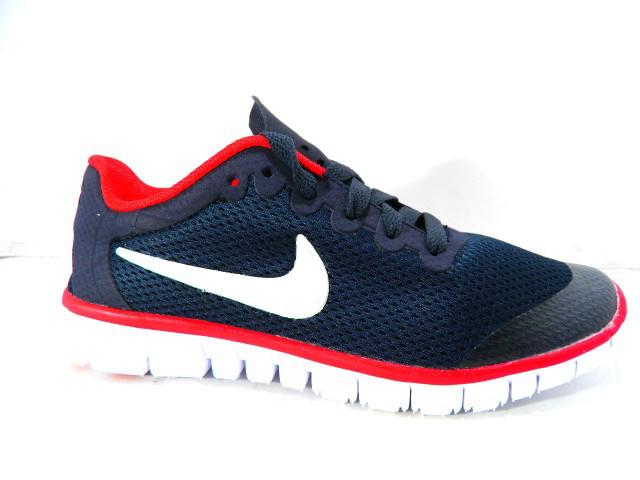 Кроссовки подростковые Nike (Реплика) G-7385-6 синий