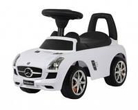 Машинка-каталка Mercedes SLS AMG белый, U-041W /Ю