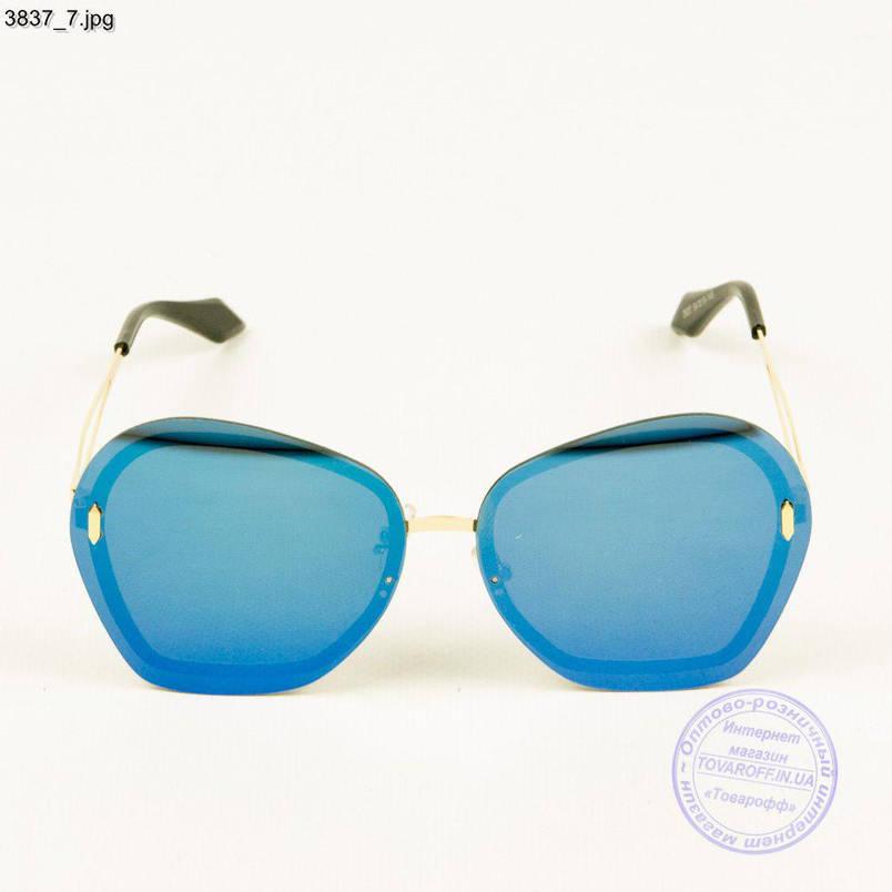Женские зеркальные очки от солнца - 3837/2, фото 2