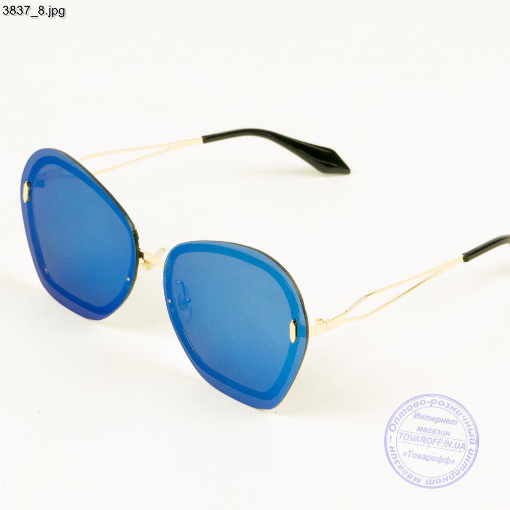 Женские зеркальные очки от солнца - 3837/2