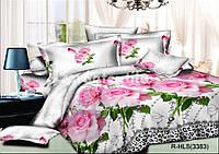 """Комплект постельного белья ТМ """"Ловец снов"""", Роза фламинго"""