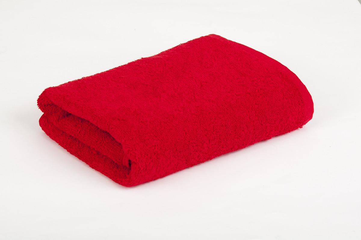 Полотенце махровое Lotus красное 30*50 оптом