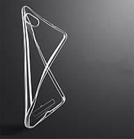 Чехол Xiaomi Mi 5s Plus силиконовый прозрачный
