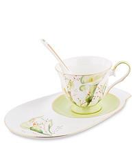 Чайные пары из костяного фарфора