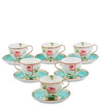 Чайные наборы на 6 персон и сервизы из костяного фарфора
