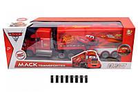 """Трейлер-грузовик """"Mack""""Тачки. Disney"""" на радиоуправлении, 767-370C"""