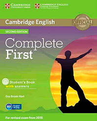 Complete First 2nd Edition Student's Book with answers and CD-ROM
